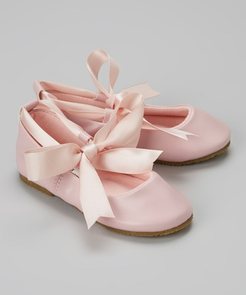 Pink Bow Ballet Flat