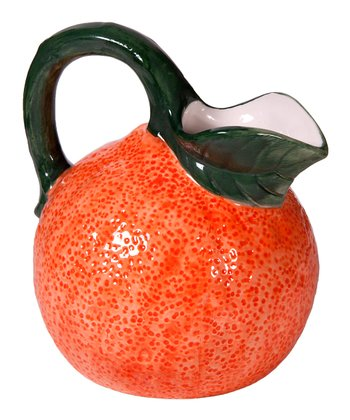 Orange 8.5'' Pitcher