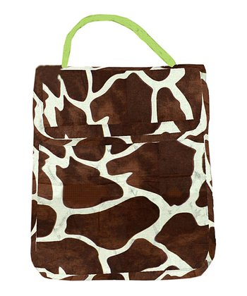 Giraffe Roll-Down Lunch Tote