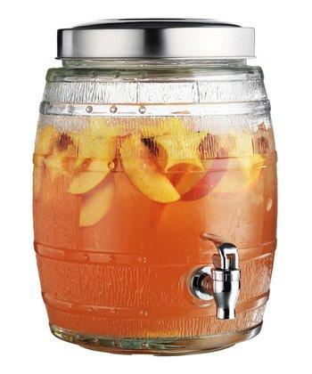 Barrel 2-Gal. Beverage Dispenser