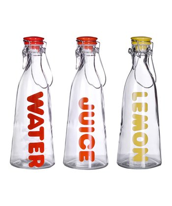 Lemonade Bottle Set