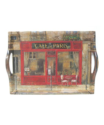 Café de Paris Handled Tray