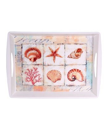 Home Essentials & Beyond Ocean Rectangular Serving Tray