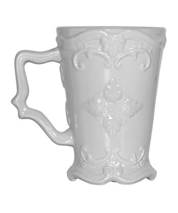 Gray Round Footed Mug