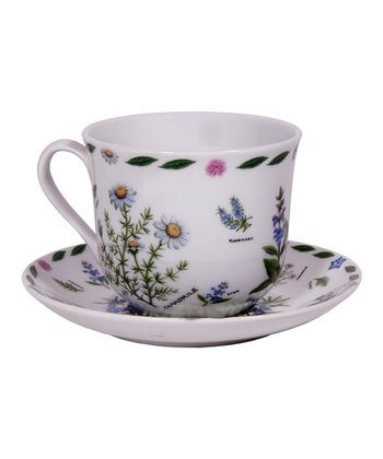 Herb Break Teacup & Saucer