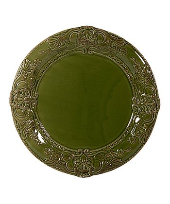 Green Tuscan Antique Bar 10.75'' Dinner Plate