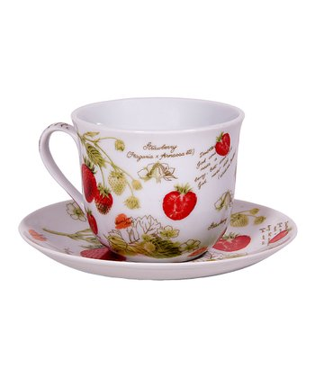 New Fruit Teacup & Saucer