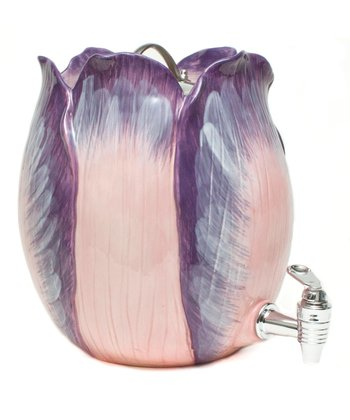 Purple Tulip 1.4-Gal. Beverage Dispenser