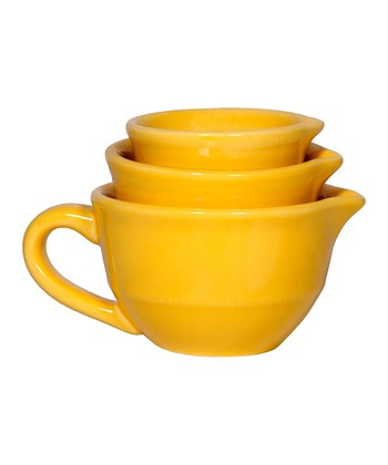 Yellow Mini Mixing Bowl Set