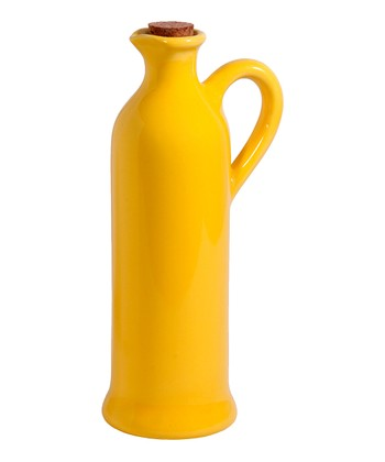Yellow Bright Oil Bottle