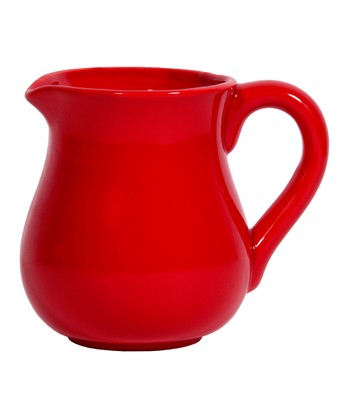Red 7.5'' Pitcher