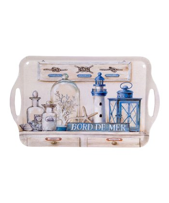 Home Essentials & Beyond 'Bord de Mer' Serving Tray