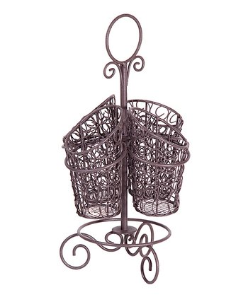 French Wire Rotating Caddy