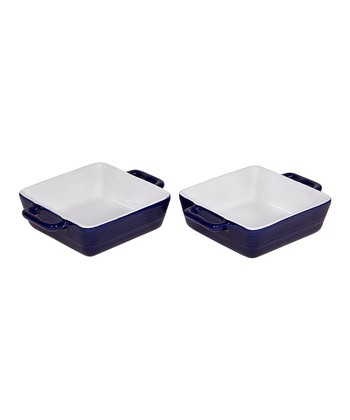 Cobalt Mini Baker - Set of Two