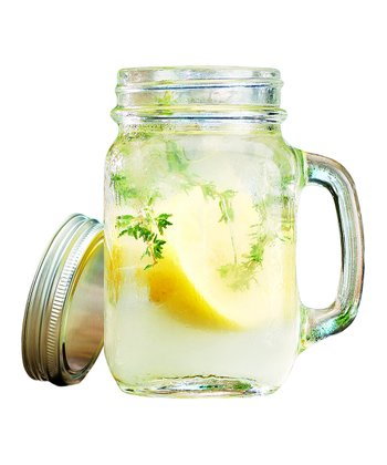 Del Sol Handled Mason Jar - Set of Four