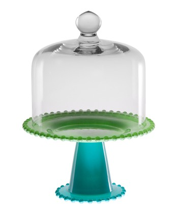 Blue & Green 8'' Cake Dome