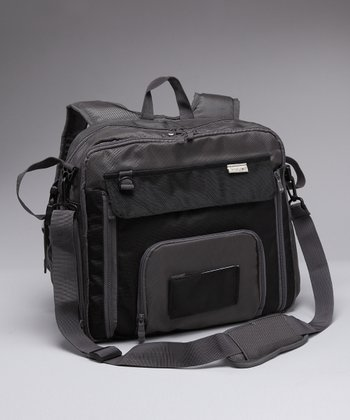 Simply Good Gray Square Diaper Bag
