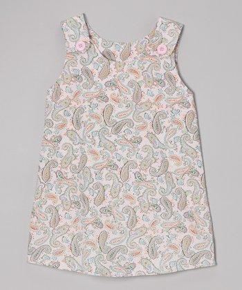Pink Paisley Dress - Toddler & Girls