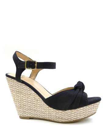 Black Sue Espadrille