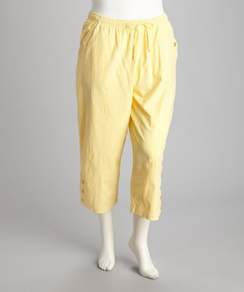 Banana Plus-Size Capri Pants