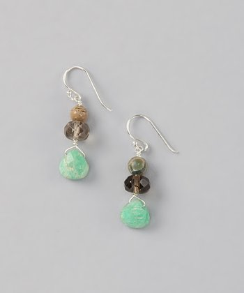 Chrysocolla Teardrop Earrings