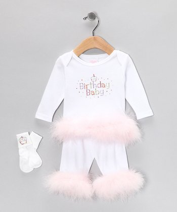 White Birthday Set - Infant