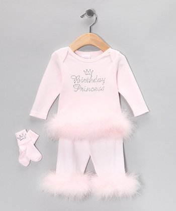 Pink Birthday Princess Set