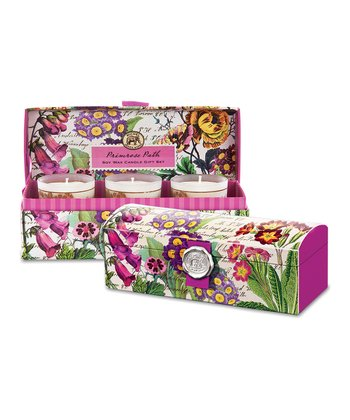 Primrose Path Candle Set & Gift Box