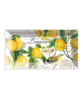 Lemon Basil Glass Tray