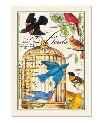 Birdcage Kitchen Towel - Set of Three
