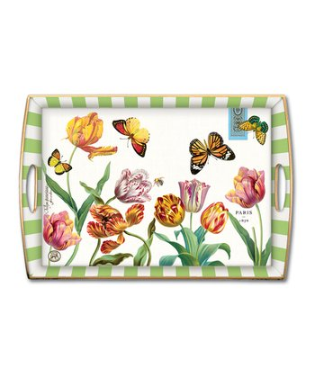 Tulips Handled Tray