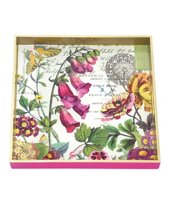 Primrose Path Square Tray