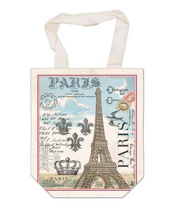 Vintage Paris French Market Bag