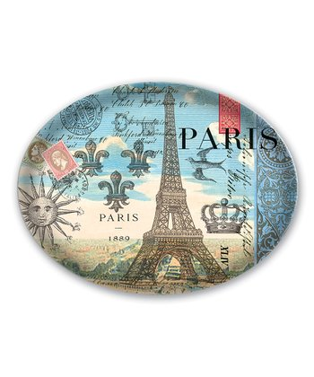 Vintage Paris Glass Soap Dish
