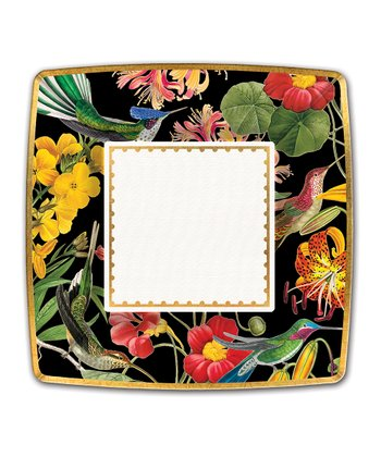 Michel Design Works Floral Exotica Dinner Plate - Set of 24