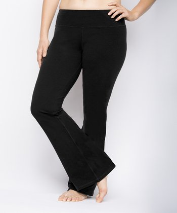 Black Lounge Pants - Plus