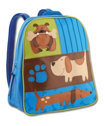 Blue Dog Go-Go Backpack
