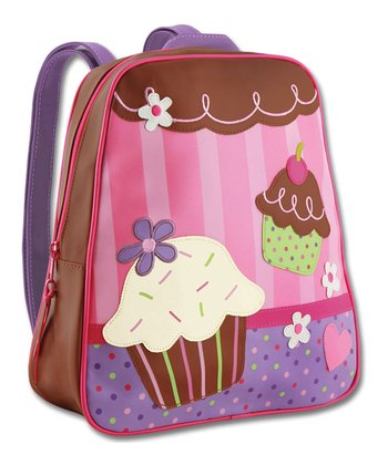 Pink & Brown Cupcake Go-Go Backpack