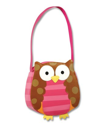 Pink & Brown Owl Go-Go Purse