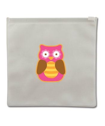 Owl Reusable Snack Bag