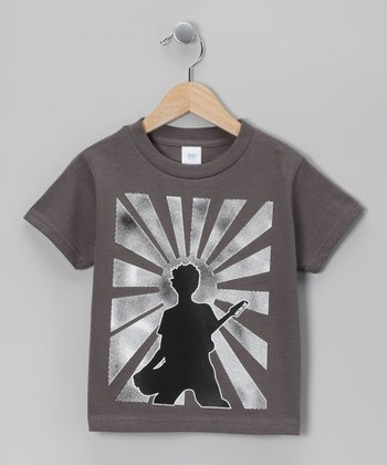 Charcoal Rockstar Tee - Infant, Toddler & Boys
