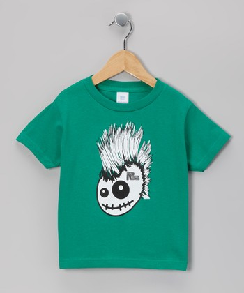 Kelly Green Skully Hawk Tee - Infant, Toddler & Boys