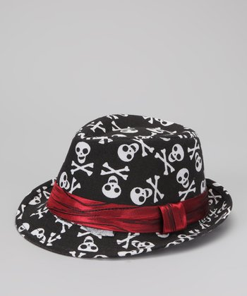 Black Skullz Fedora