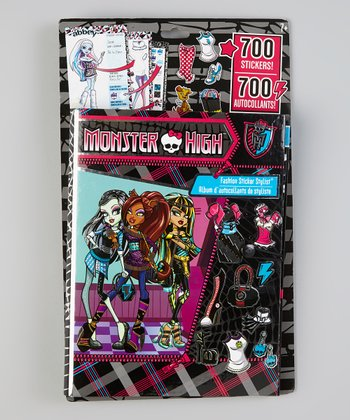 Monster High Fashion Sticker Stylist Set
