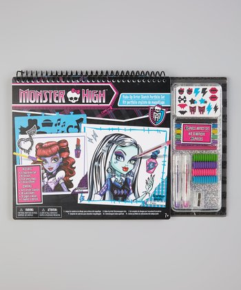 Monster High Make-Up Portfolio & Art Set