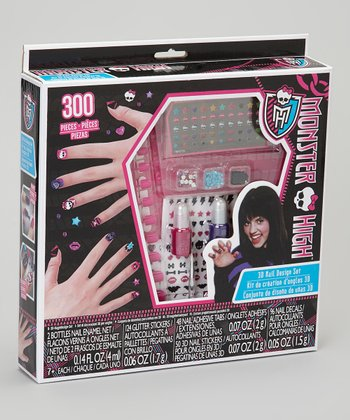 Monster High 3-D Nail Design Set