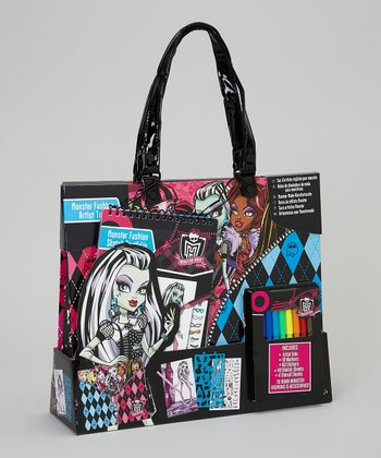 Monster High Velvet Art Tote Set