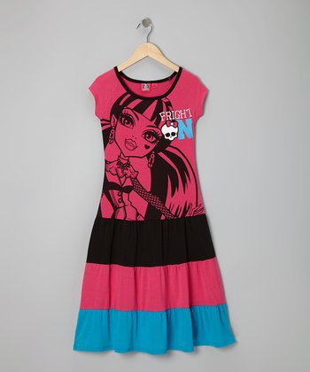 Fuchsia 'Fright On' Maxi Dress