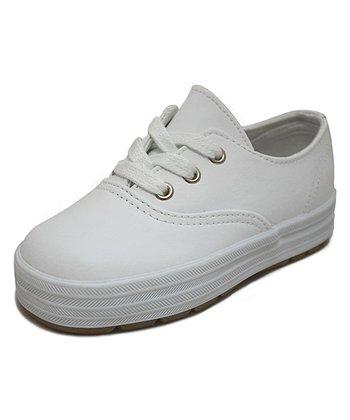 Peaks White Lois High Wall Sneaker