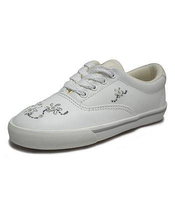 Peaks White Countess Leather Sneaker